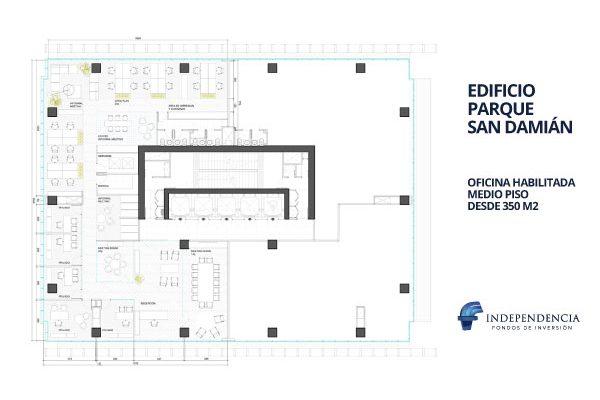Medio pisoDesde 350 m2